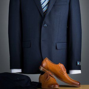 Other - Brand new 2 pieces regular fit suit, marine blue